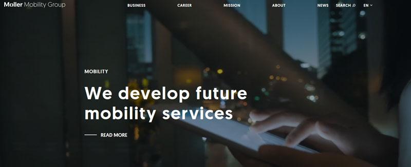 ناوبری آسان طراحی وب سایت