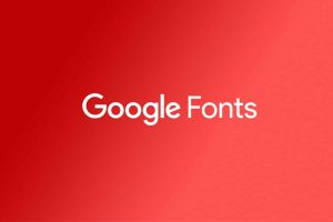 Disable Google Fonts