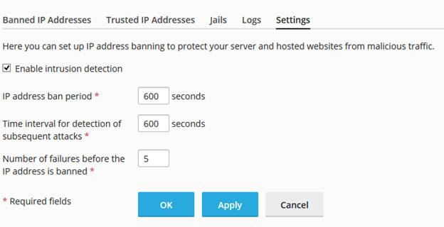 ابزار امنیتی Fail2ban