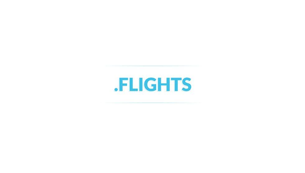 پسوند دامنه flights.