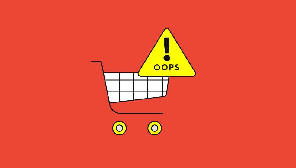 چهار اشتباه بزرگ در طراحی فروشگاههای اینترنتی باکیفیت