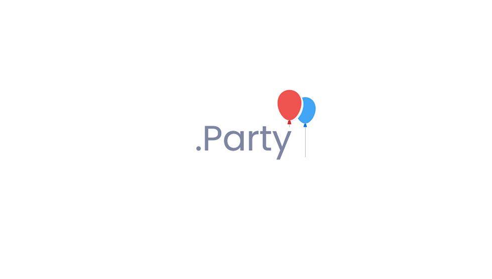 ثبت دامنه party.
