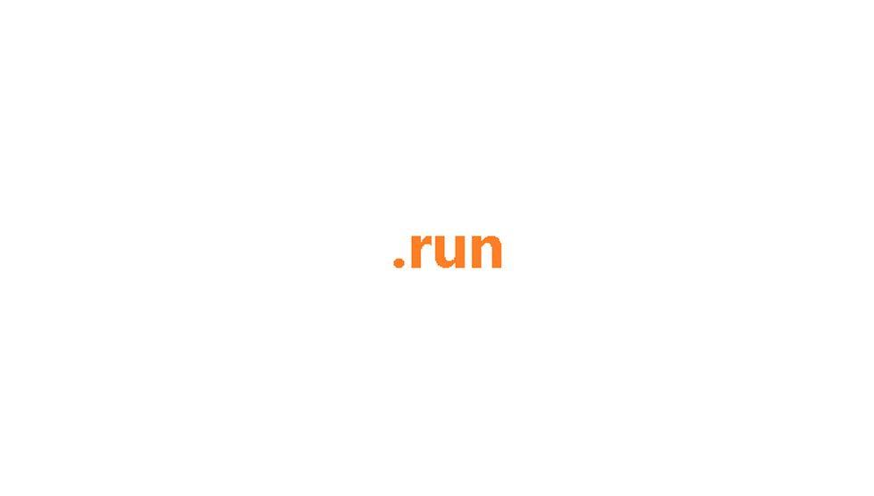 ثبت دامنه run.