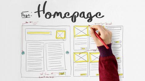 چگونه یک صفحه اصلی عالی طراحی کنیم؟