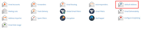 آموزش ساخت ایمیل اکانت دیفالت