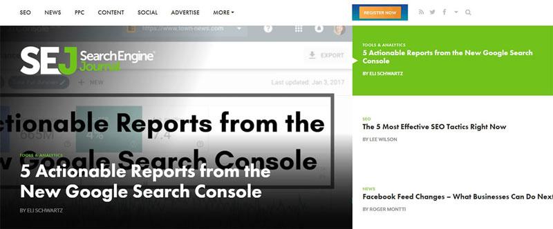 وبسایت Search Engine Journal