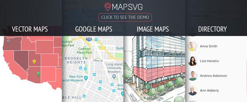 پلاگین MapSVG