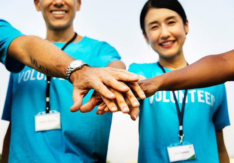 گروهی کار کنید: داوطلب باشید