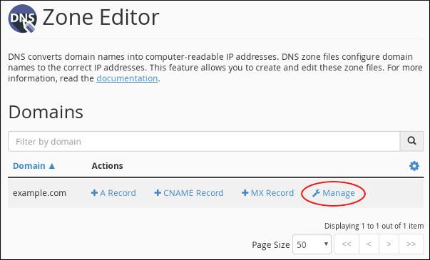 اضافه کردن رکورد در DNS Zone
