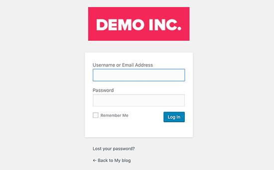 تغییر لوگو و URL لاگین وردپرس با استفاده از پلاگین