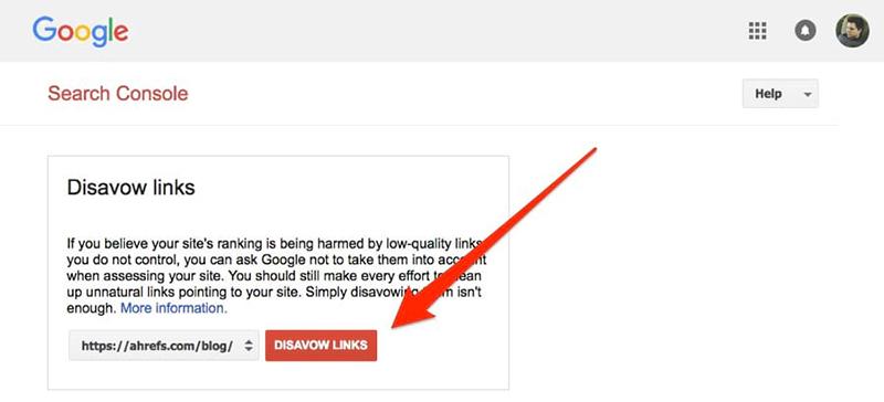 راهنمای کامل ابزار Disavow Links گوگل برای رد کردن بک لینکهای مخرب