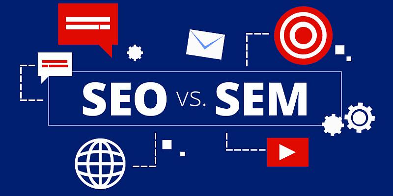 تفاوت میان SEM و SEO چیست؟