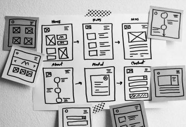اصول طراحی وایرفریم وب سایت (Wireframing)