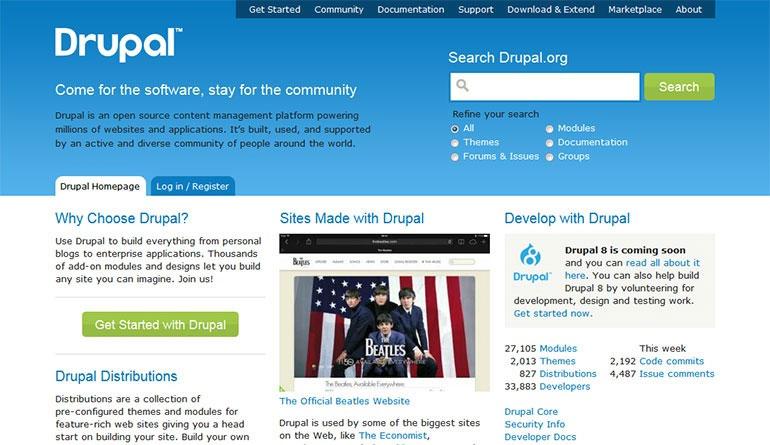 drupal چیست